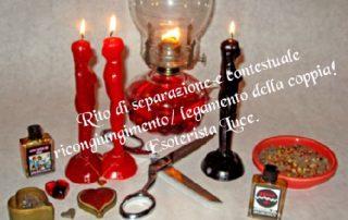 rito di separazione amante e ricongiungimento della coppia