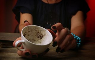 lettura dei fondi del caffè
