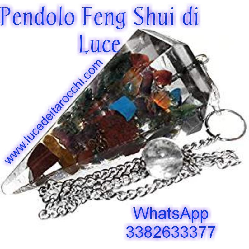 pendolo feng shui di luce
