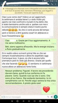 testimonianza rito amore argagù su whatsapp