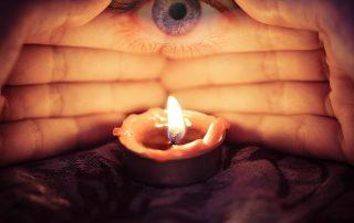 luce medium terzo occhio