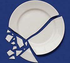 significato piatto rotto segnali